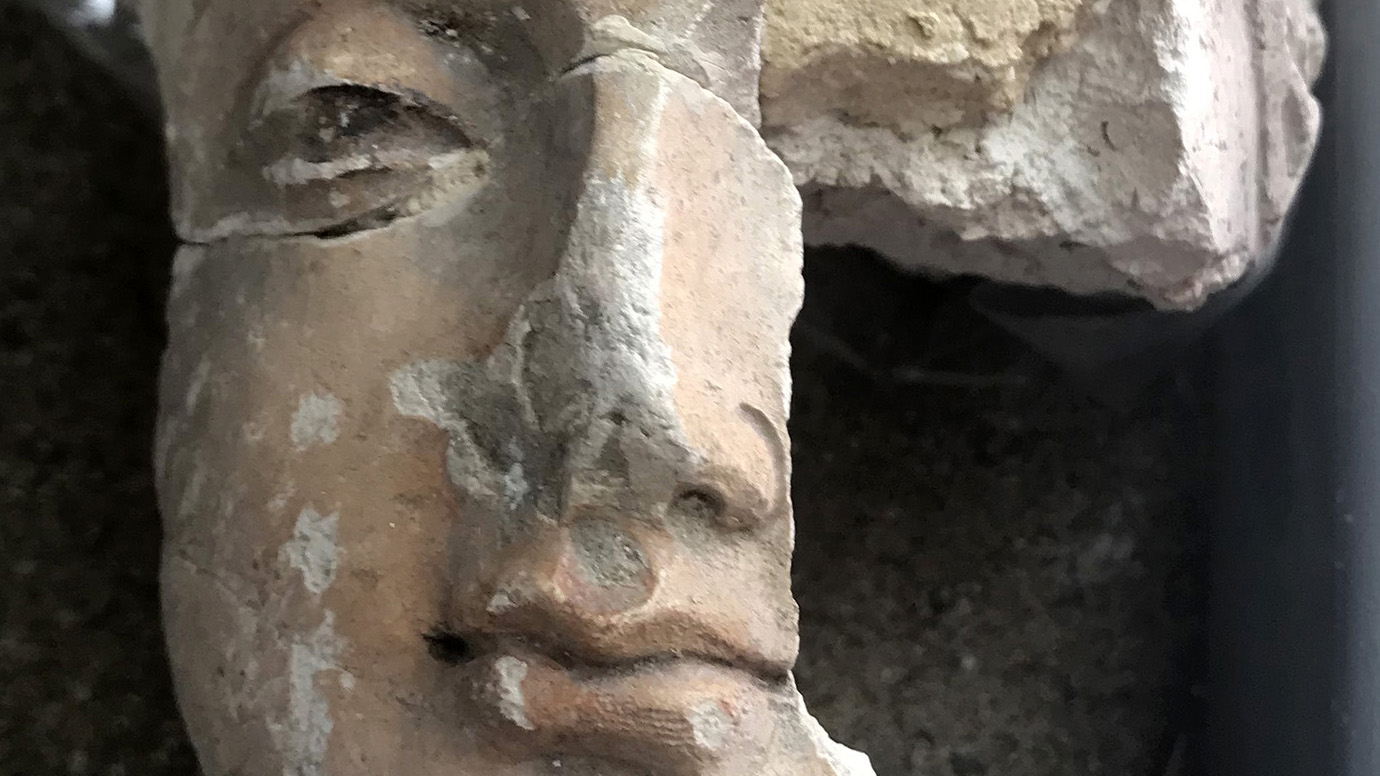Shattered Buddhist statues restored with help from the OI