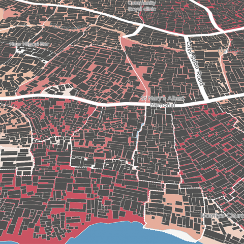 Million Neighborhoods map