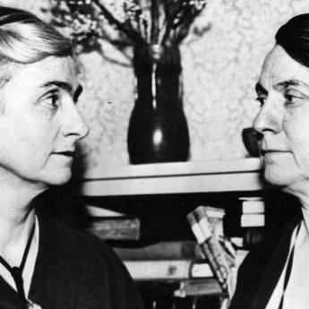 Edith Abbott and Grace Abbott